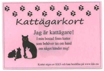 Kort för kattägare